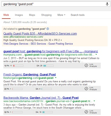 Guest blogging google search1