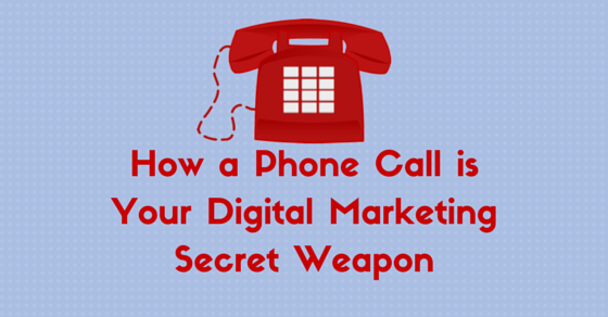 Phone call digital marketing