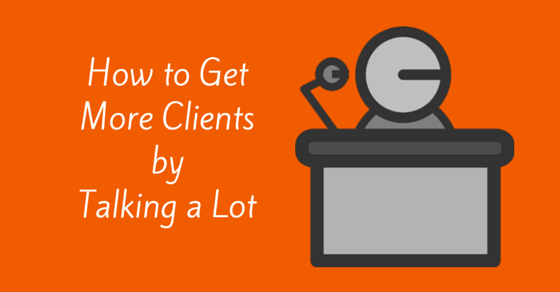 How to Use Speaking Engagements to Get More Clients