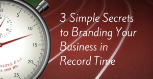 Branding Business Record Time