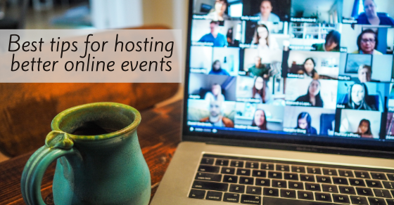 How to host better online events